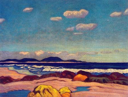 Seashore, Nova Scotia, 1923 - J. E. H. MacDonald