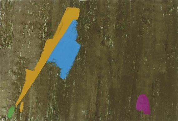 Bluegold, 1973 - Jack Bush