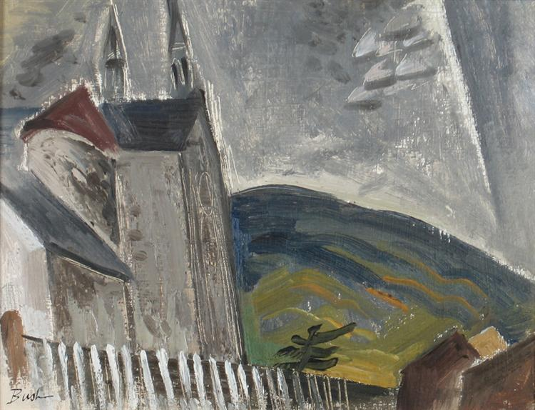Grey Day – Mattawa, 1947 - Jack Bush