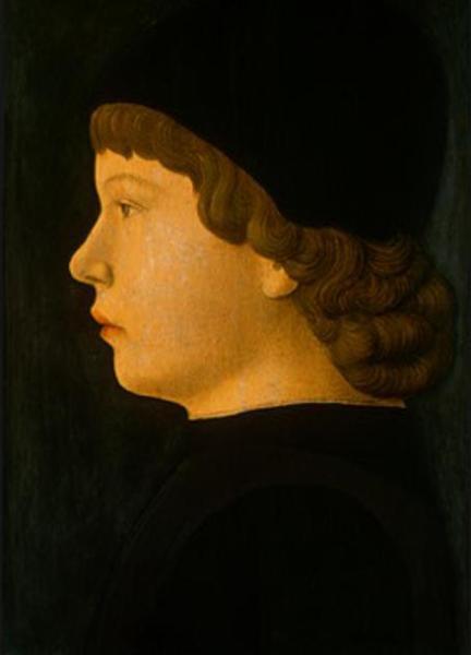 Profile Portrait of a Boy, 1470 - Jacopo Bellini