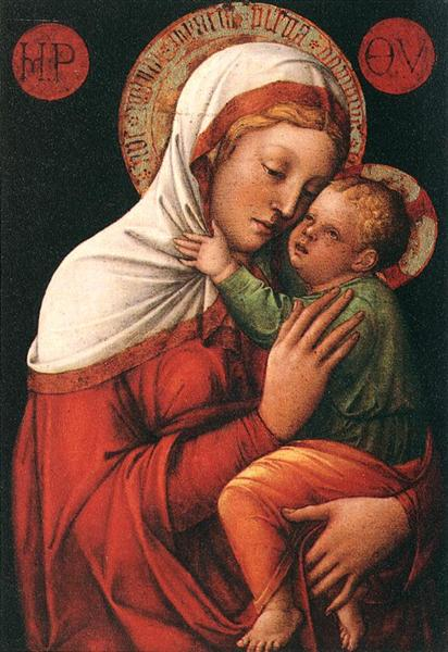 Virgin and Child - Jacopo Bellini