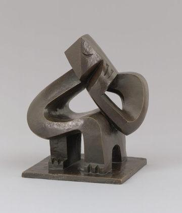 Seated Man, 1925 - Жак Ліпшиц