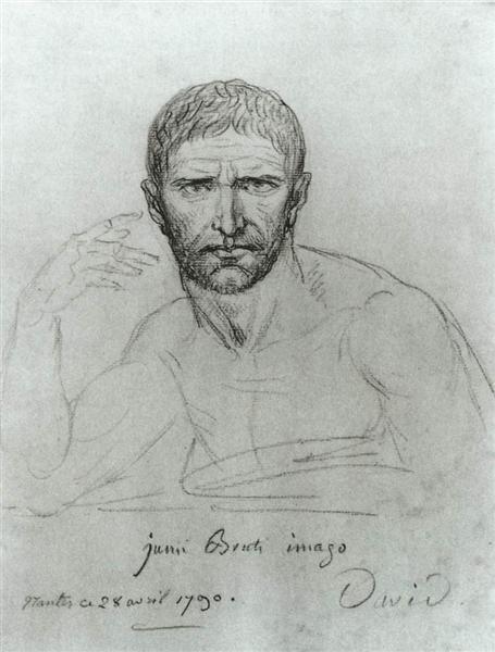 Brutus, 1790 - Jacques-Louis David
