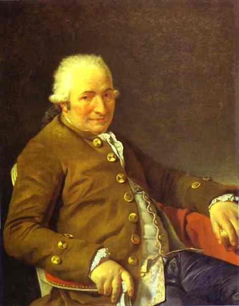 Portrait of Charles-Pierre Pecoul, 1784 - Jacques-Louis David