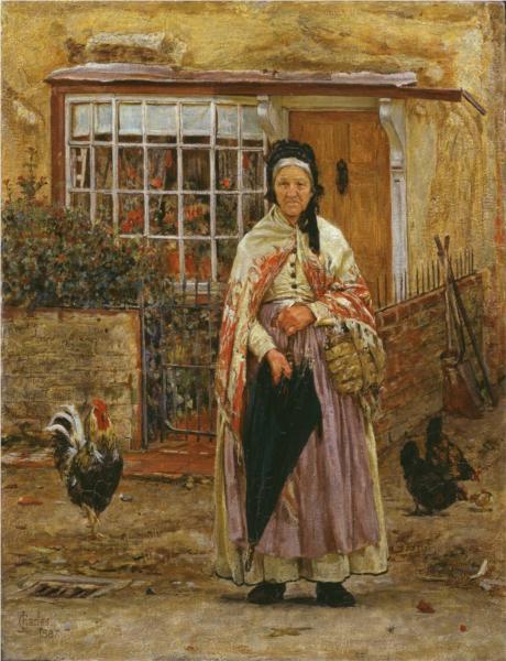 Will It Rain?, 1887 - James Charles