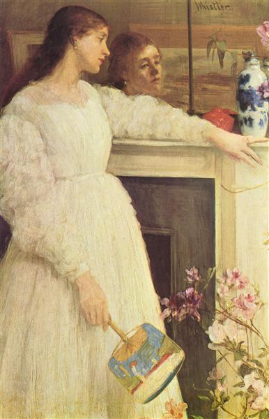 Symphony in White, No. 2: The Little White Girl, 1864 - James McNeill Whistler