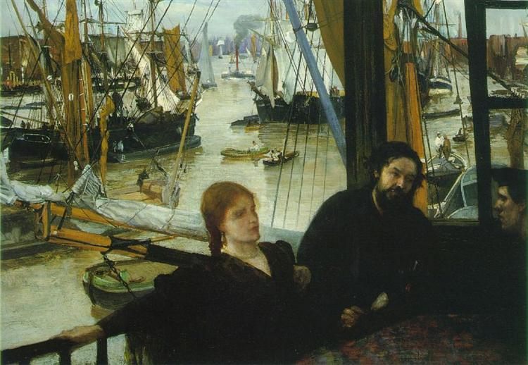 Wapping on Thames - James McNeill Whistler