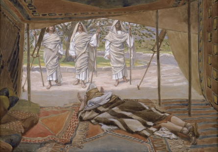 Abraham and the Three Angels, c.1896 - c.1902 - James Tissot