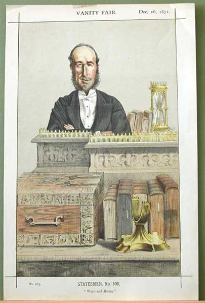 Caricature of John George Dodson M.P., 1871 - James Tissot