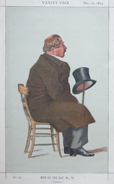 Caricature of Percy William Doyle C.B., 1873 - James Tissot