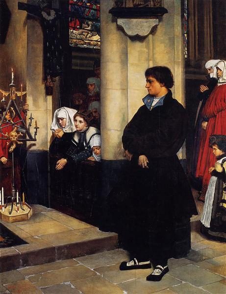 During the Service, 1860 - James Tissot