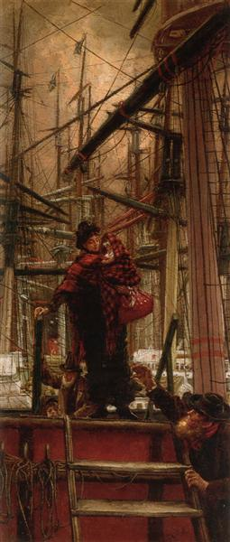 Emigrants, c.1879 - James Tissot