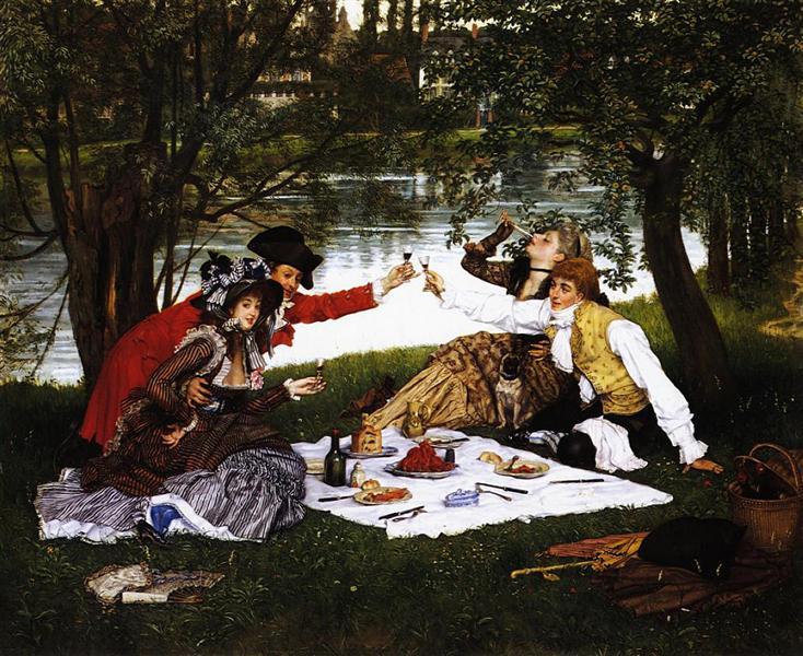 Partie Carree, 1870 - James Tissot