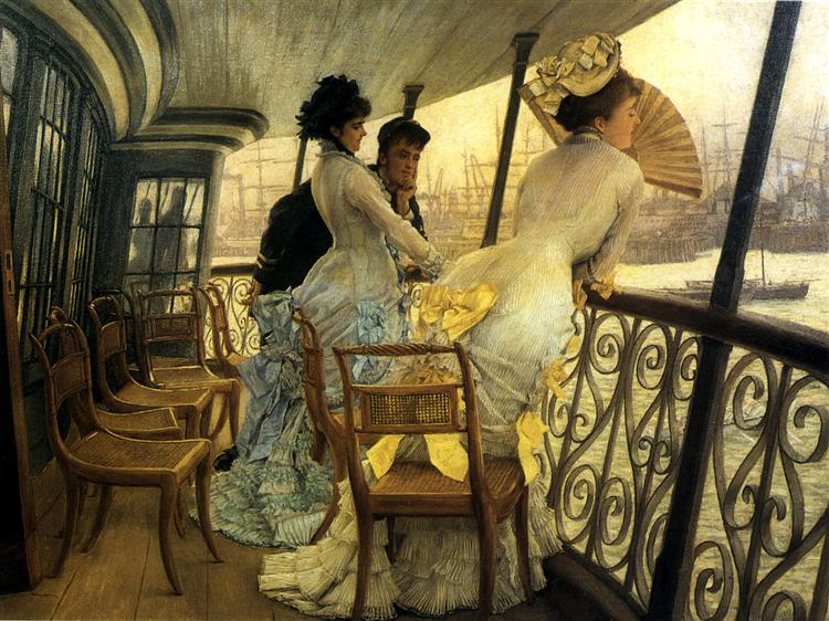 Remembrance Ball on Board, c.1877 - James Tissot