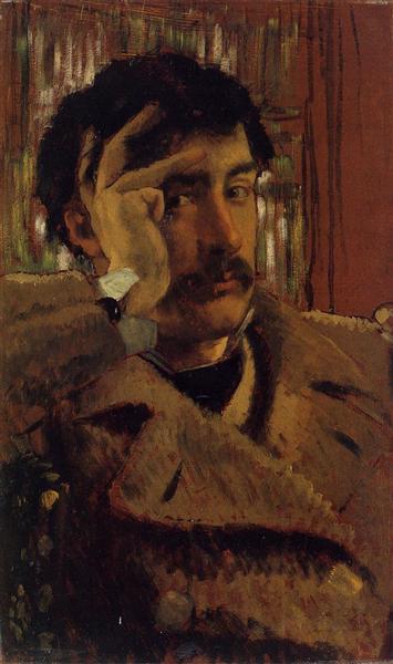 Self Portrait, 1865 - James Tissot