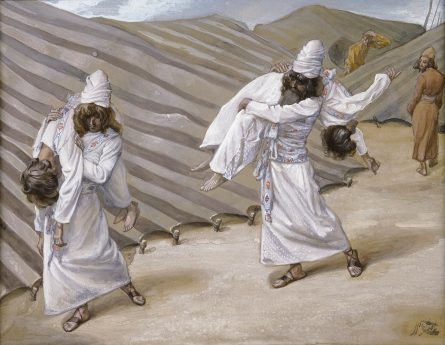 The Dead Bodies Carried Away, c.1896 - c.1902 - James Tissot