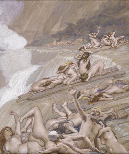 The Deluge, c.1896 - c.1902 - James Tissot