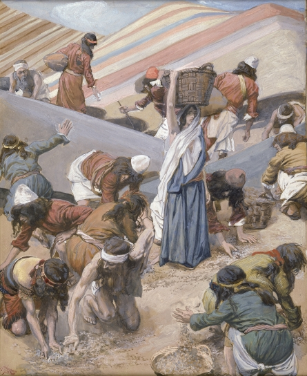 The Gathering of the Manna, c.1896 - c.1902 - James Tissot