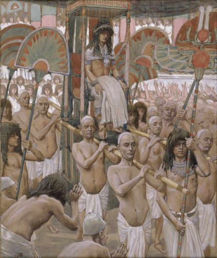 The Glory of Joseph, c.1896 - c.1902 - James Tissot