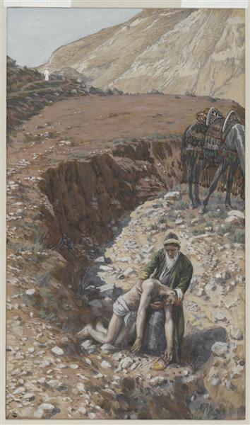The Good Samaritan - James Tissot