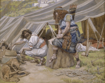 The Mess of Pottage, c.1896 - c.1902 - James Tissot