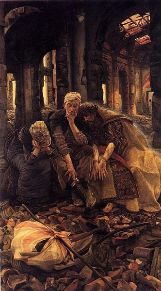 The Ruins (Inner Voices), 1885 - James Tissot