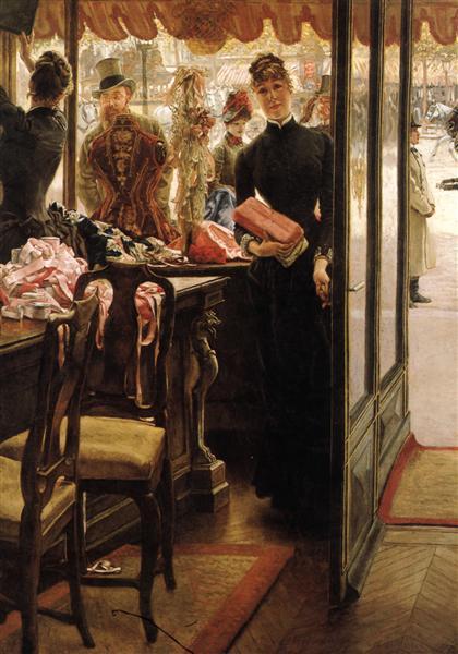The Shop Girl, 1883 - 1885 - James Tissot