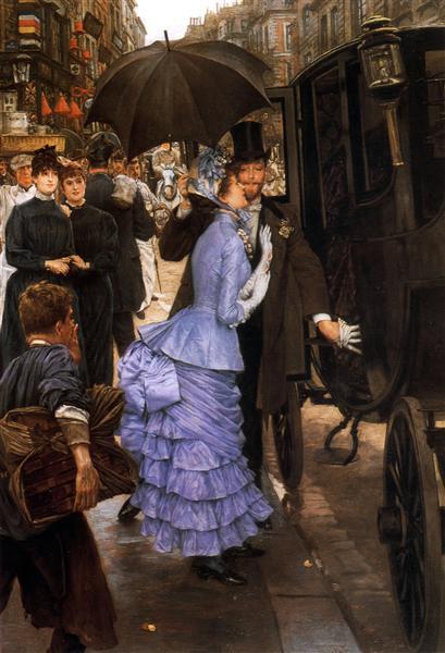 The Traveller, 1883 - 1885 - James Tissot