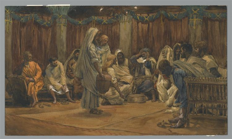 The Washing of the Feet - James Tissot