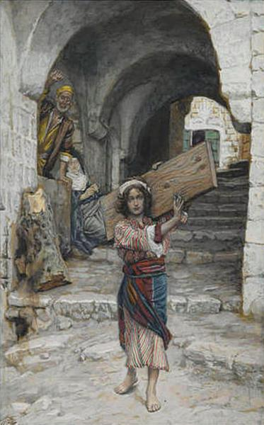 The Youth of Jesus, illustration for 'The Life of Christ', c.1886 - c.1894 - James Tissot