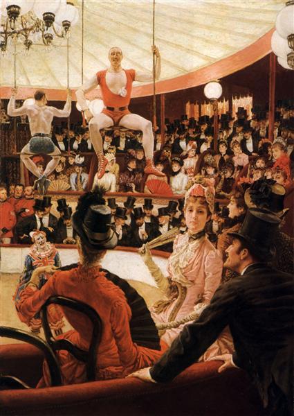 Women of Paris: The Circus Lover, 1885 - James Tissot