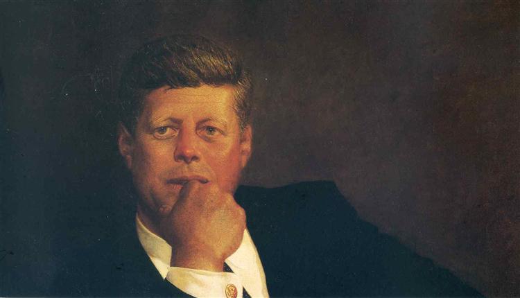 John F. Kennedy, 1967 - Jamie Wyeth