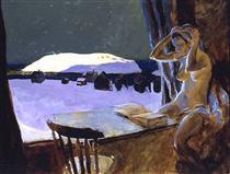 Monhegan's Schoolteacher - Jamie Wyeth