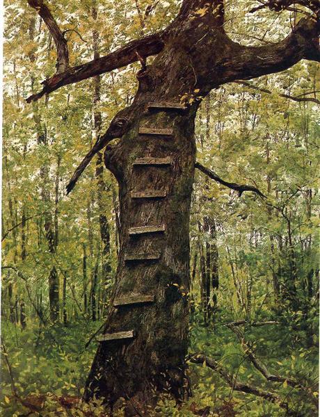 Steps, 1972 - Jamie Wyeth