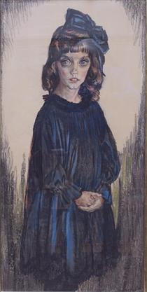 The daughter of Sormani - Jan Sluyters