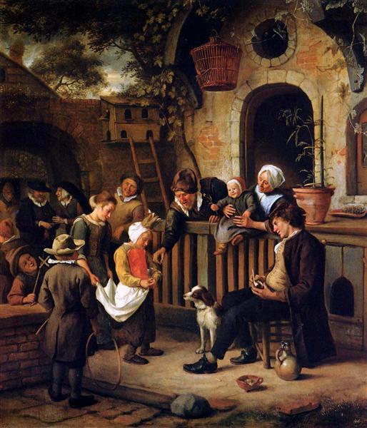 Little collector, c.1663 - 1665 - Jan Steen
