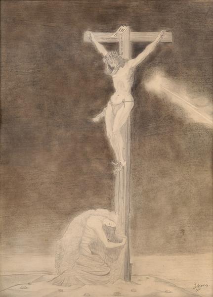 Crucifixion, c.1928 - Jan Toorop