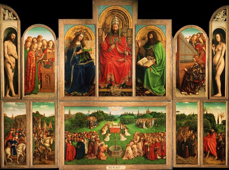 The Ghent Altarpiece, 1432 - Jan van Eyck