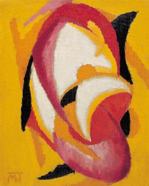 Composition, 1921 - Janos Mattis-Teutsch