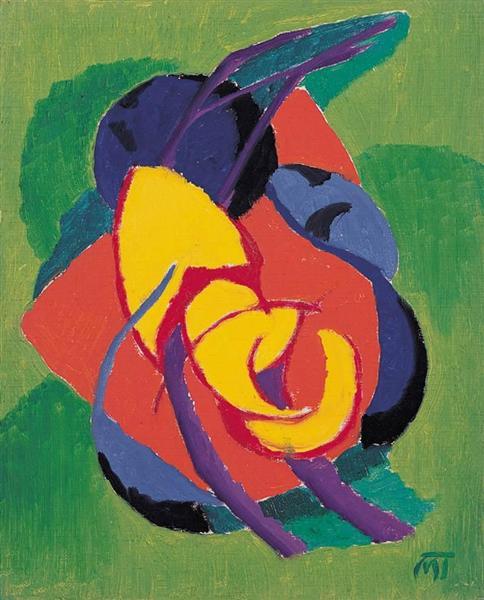 Composition, 1922 - Janos Mattis-Teutsch