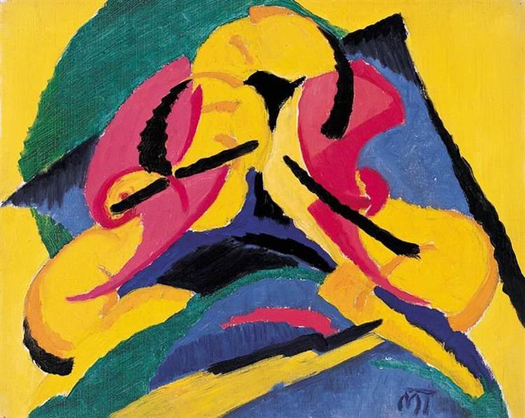 Composition, 1922 - Hans Mattis-Teutsch