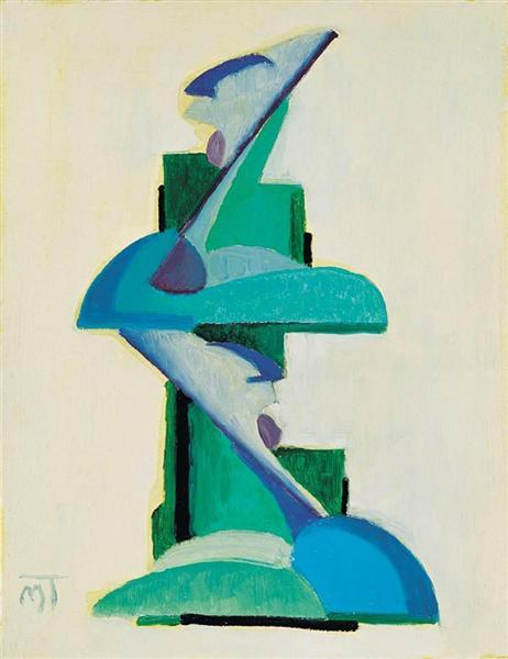 Composition, 1925 - Janos Mattis-Teutsch