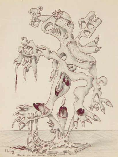 Hantée par une aurore fragile - Jaroslav Serpan