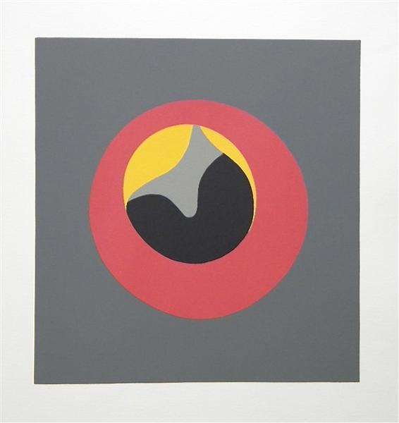 The Sun Recircled, 1966 - Jean Arp
