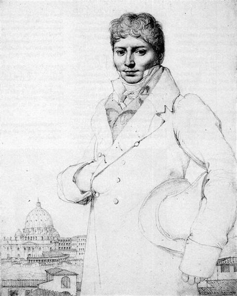Dr. Jean Louis Robin - Jean Auguste Dominique Ingres