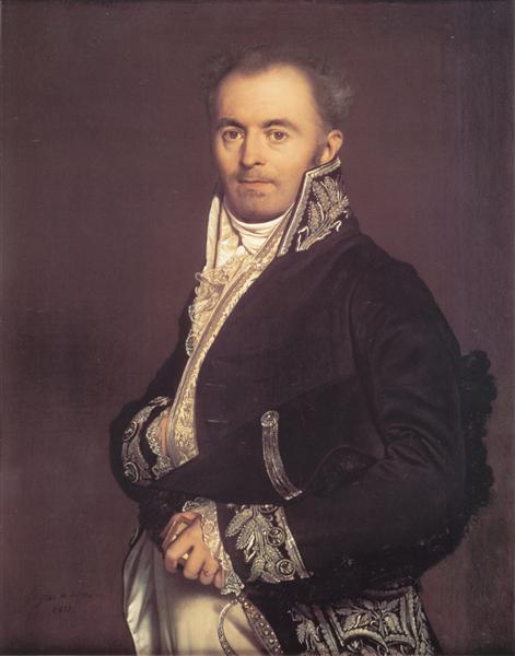 Hippolyte-François Devillers, 1811 - Jean Auguste Dominique Ingres