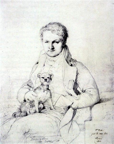 Jacques Marquet, Baron de Montbreton de Norvins - Jean Auguste Dominique Ingres