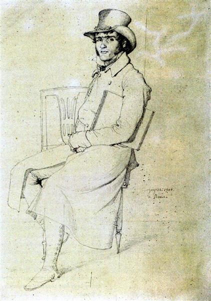 Jean François Julien Menager - Jean Auguste Dominique Ingres