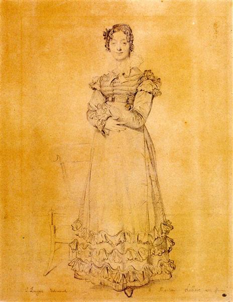 Madame Jacquelles Louis Leblanc, born Françoise Poncelle - Jean Auguste Dominique Ingres