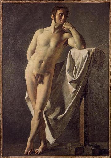 Male nude, 1801